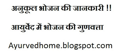 food basic fundamental in hindi