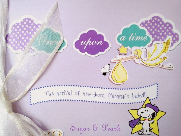 Ευχολόγιο Snoopy-by Sugar & Pearls