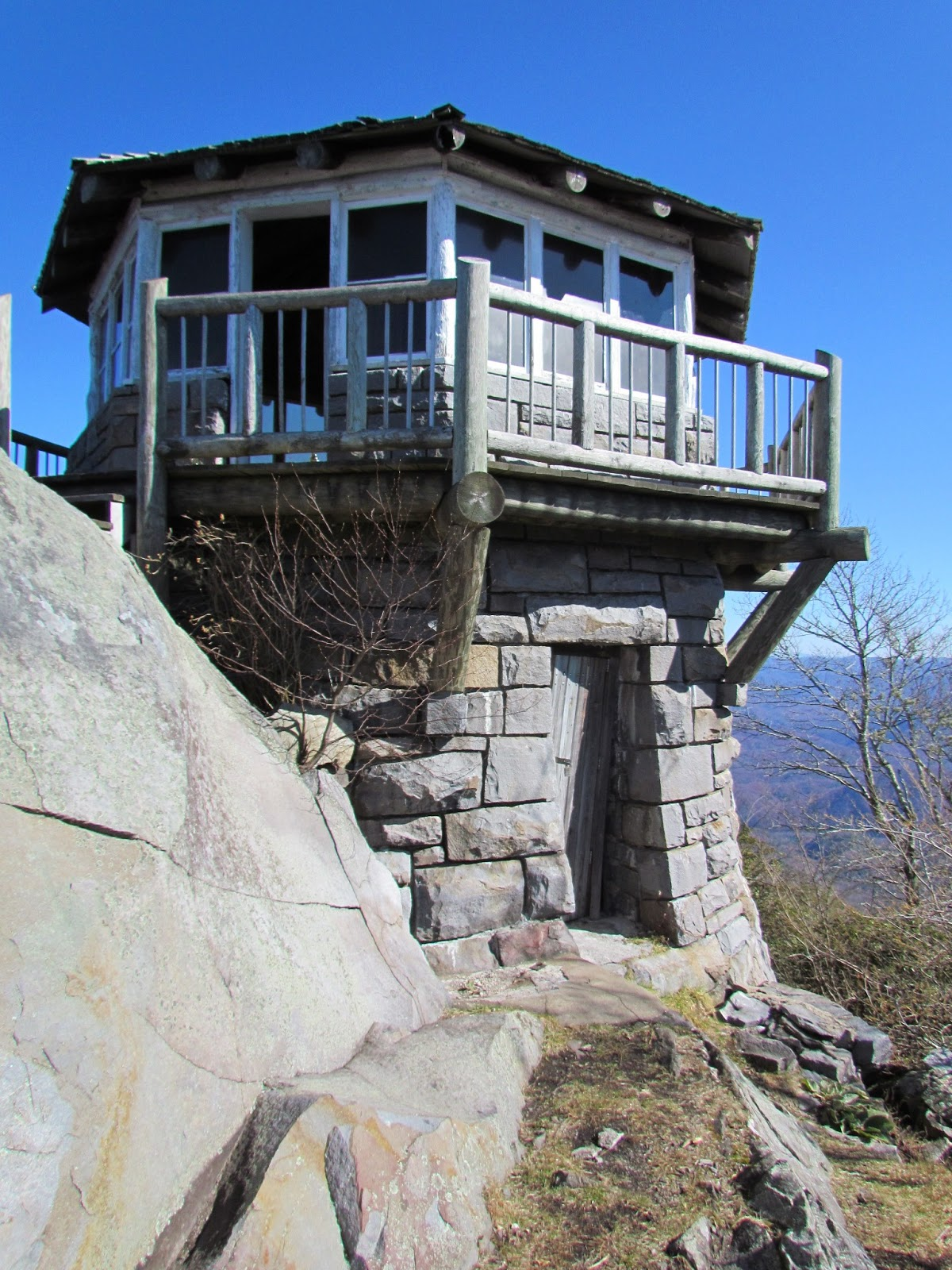 Out in the stiks a digital hike for Building a lookout tower