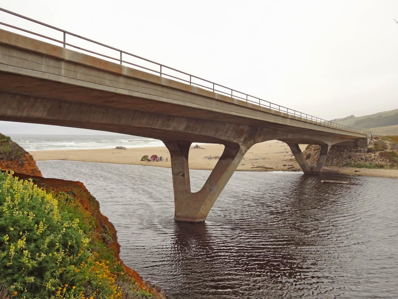 California san mateo county pescadero - San Mateo County California Bridges State Route 1 Across Pescadero Creek 2