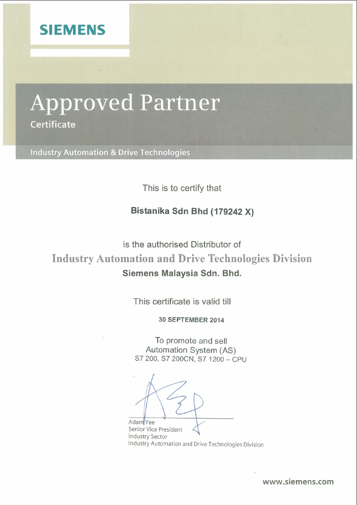 APPROVED PARTNER
