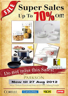 Corelle Corningware Pyrex Super Sales 2012