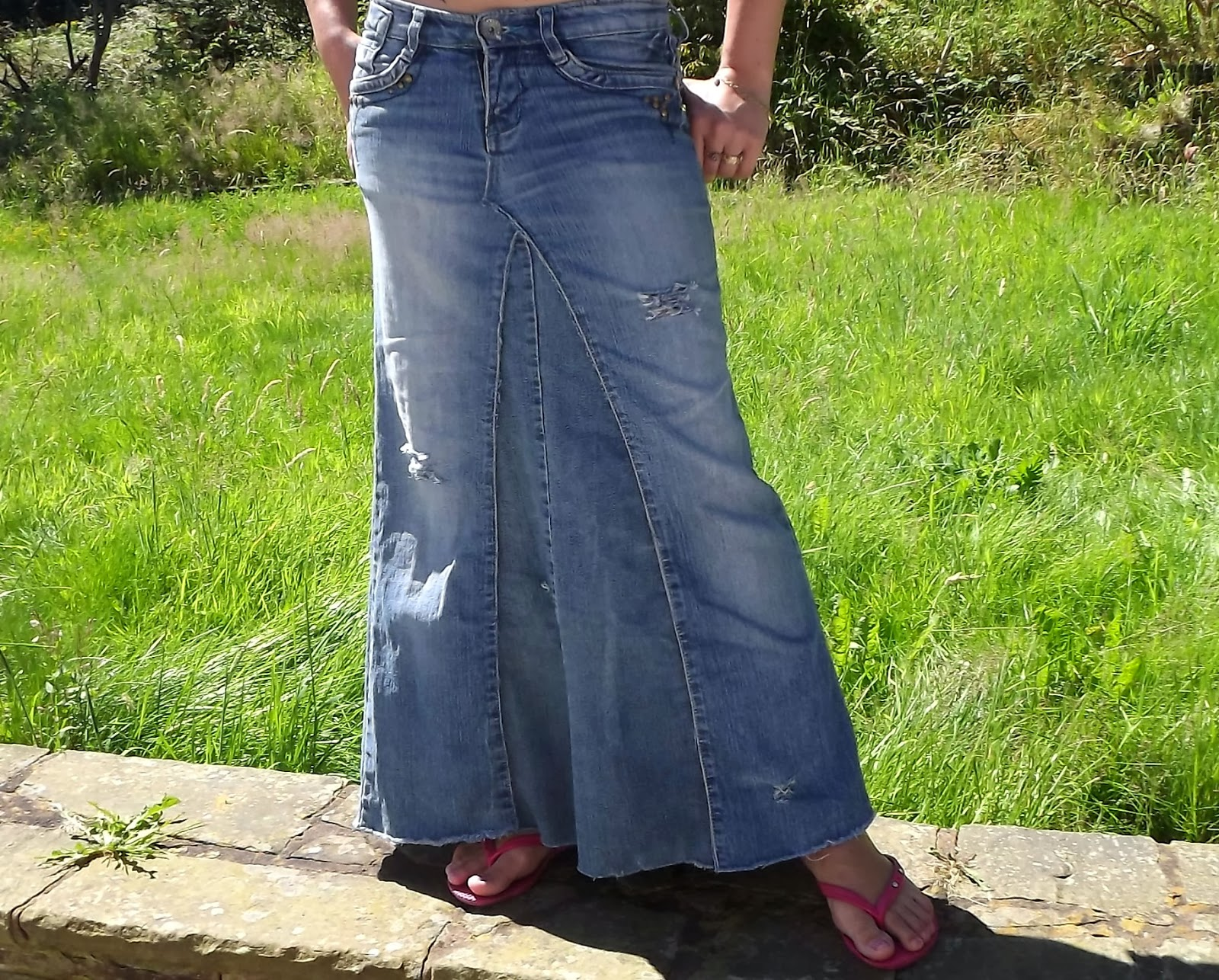 Realisation with refashions nina mia 39 s diy for Old denim