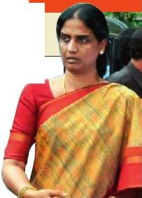 Home Minister Sabita Indra Reddy
