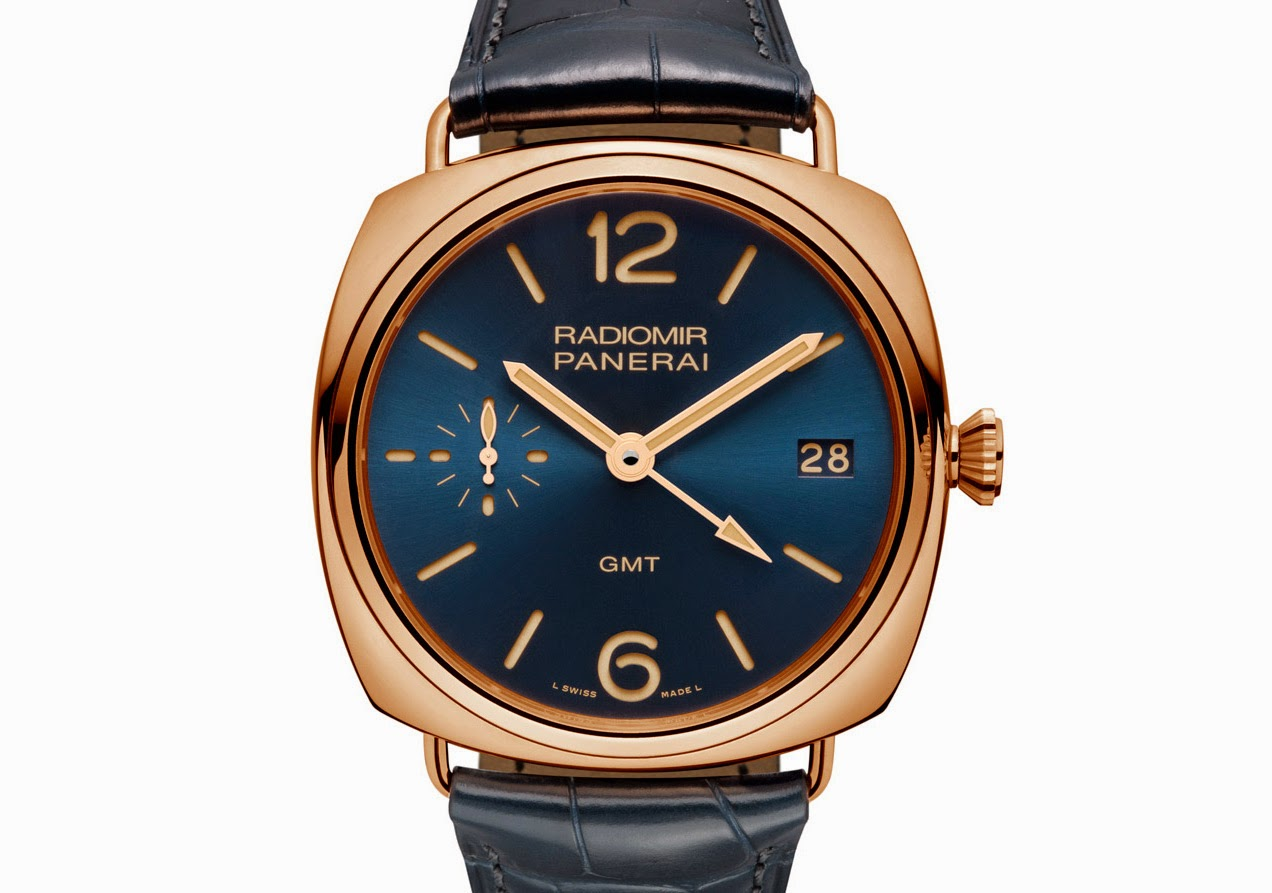 Panerai Radiomir 3 jours GMT Or rouge Radiomir-3-Days-GMT-Oro-Rosso-Pam000598