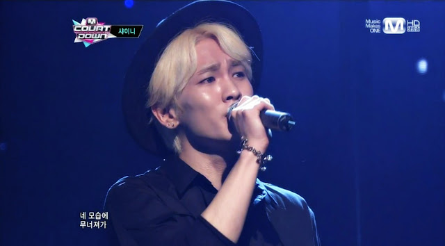 shinee key m! countdown 130523 sleepless night