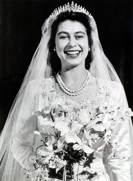 queen elizabeth ii wedding gown. Royal Wedding Dress as Symbol