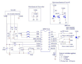 Development of Computer Mouse Circuit Controlled by EOG Circuit: The Circuit  Diagram of Computer MouseDevelopment of Computer Mouse Circuit Controlled by EOG Circuit
