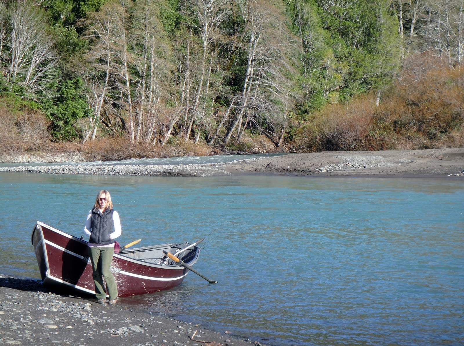 Chasing winter steelhead on the chetco brookings or for Rogue river fishing report