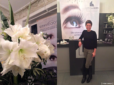Die LuxusLashes Lounge in Hamburg