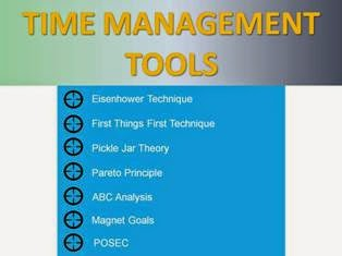 Time Management Tools For Everybody ppt slide 1