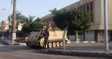 الجيش ينفى استخدام الرصاص الحى ضد المتظاهرين ببورسعيد
