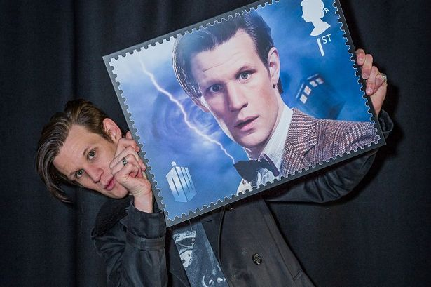 Dr Who Royal Mail stamps