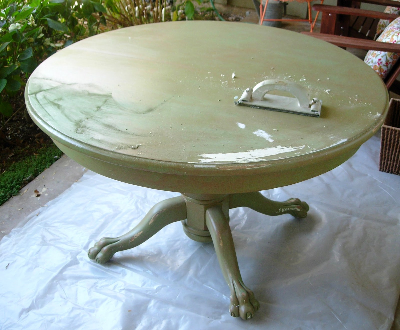 Painted Kitchen Table Watch More Like Small Painted Tables