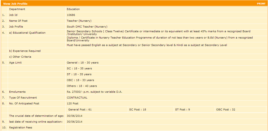age determination for job application