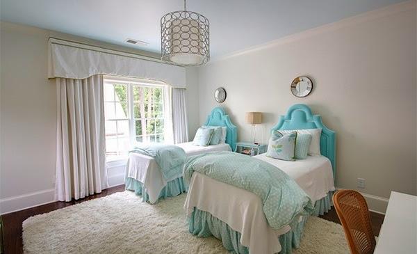 chambre fille double chambres doubles lits jumeaux id es d co pour maison moderne - Chambre Double Fille