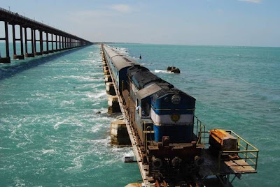 pamban bridge india