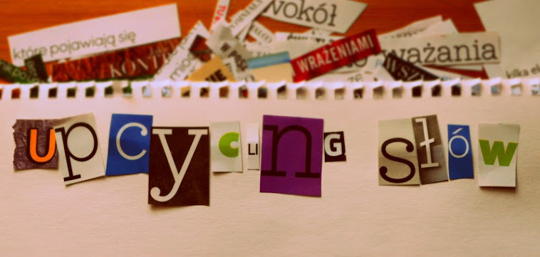 upcycling słów