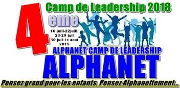 ALPHANET CAMP DE LEADERSHIP 2018