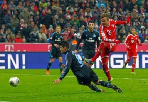 Bayern Munich champions Herbstmeister 2013-2014