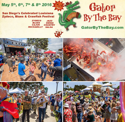 Gator By The Bay Festival Returns to San Diego for 15th Year This May 5-8