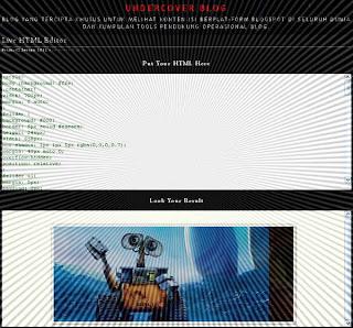 Live HTML Editor