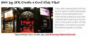 Hair by JFK Create a Cool Club Vibe!