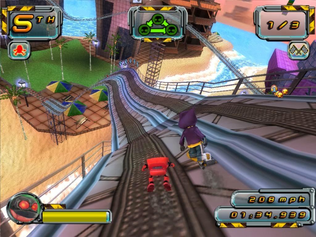 скачать игру Crazy Frog Racer 2 - фото 4