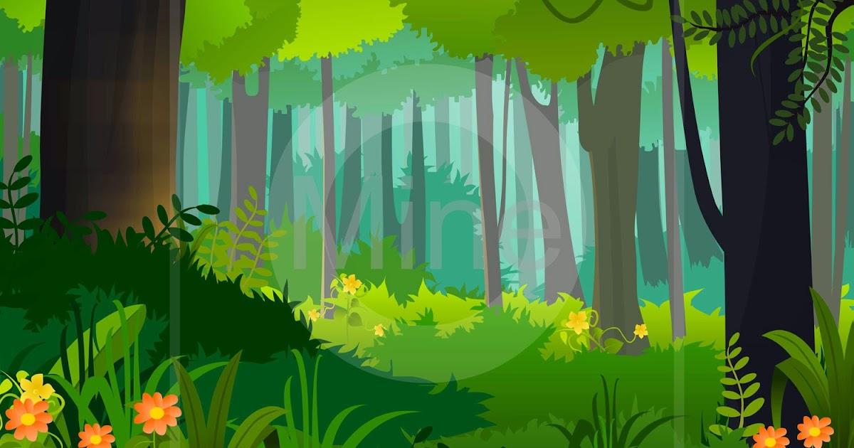 Selva Art Cartoon Forest