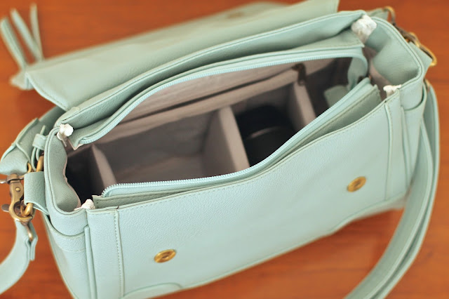 Jo Totes Abby mint green camera bag review