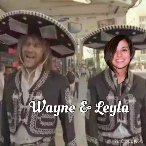 Wayne and Amiga Leyla