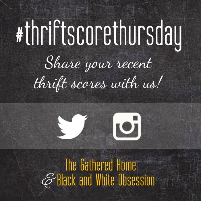 #thriftscorethursday Week 32 | Trisha from Black and White Obsession, Brynne's from The Gathered Home, and Guest Poster: Emily from Go Haus Go