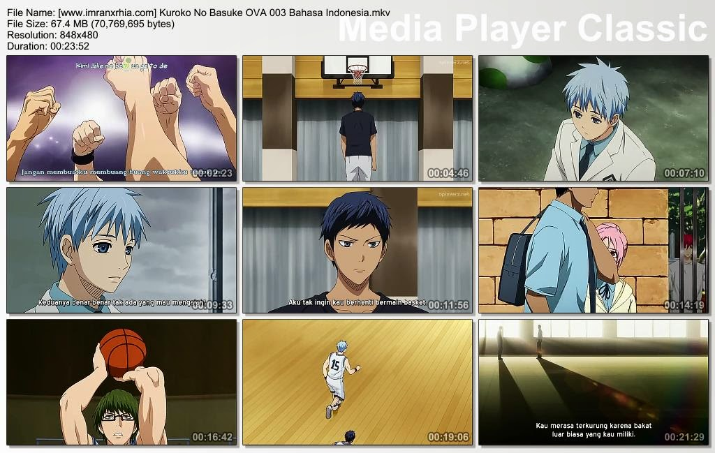 Download Film Kuroko No Basket OVA 003 Bahasa Indonesia