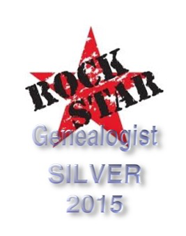 Rock Star Genealogist Silver 2015