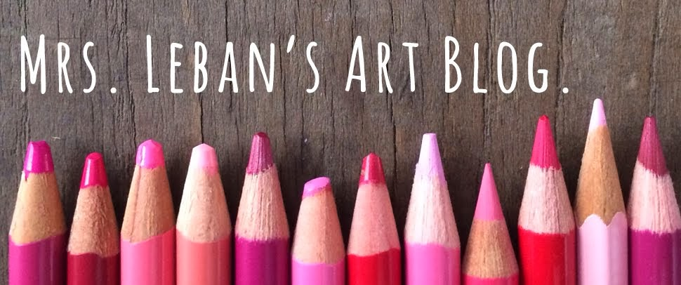 mrs. leban's art blog