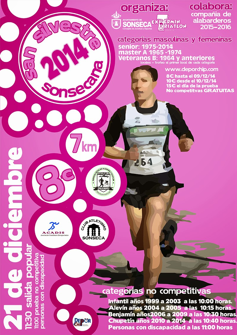 San Silvestre Sonsecana 2014
