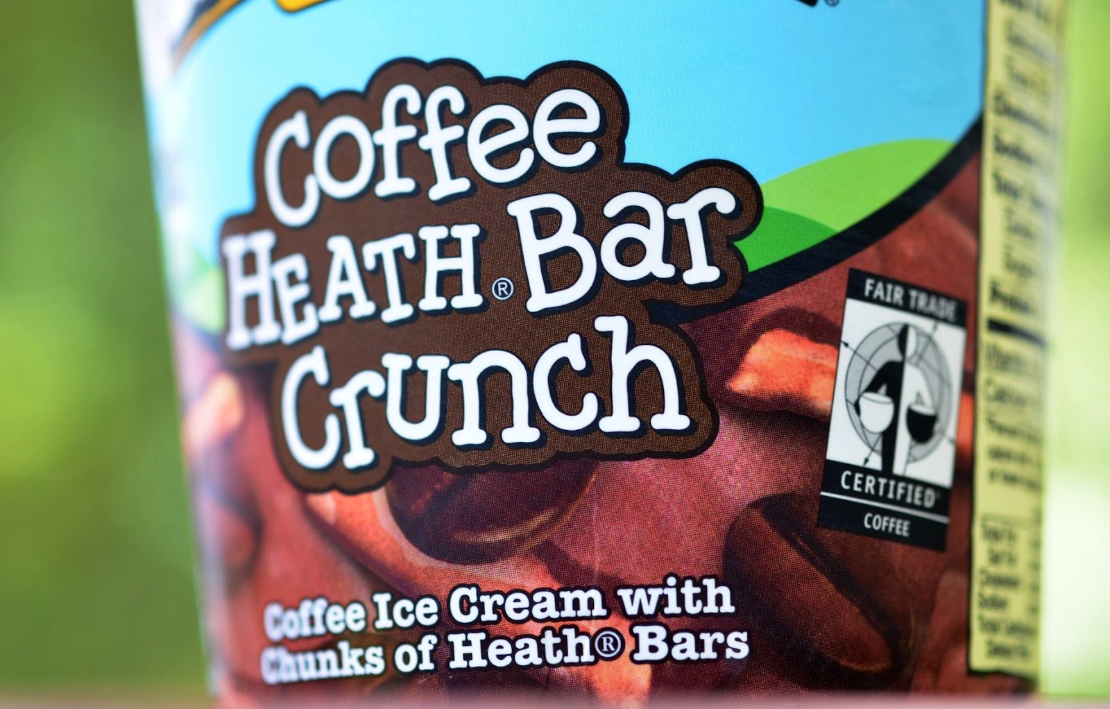 ice cream black coffee ice cream toffee bar crunch ice cream 1 0 pt ...