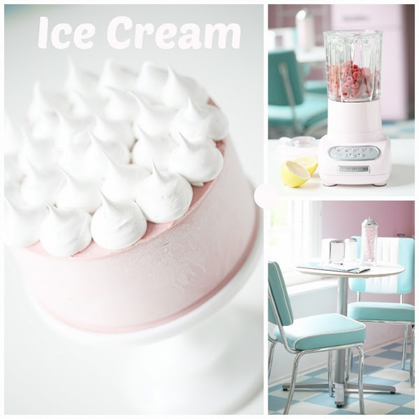 Perfect food photography - Retro Pastel Kitchen Colors That'll Make You Squeal!
