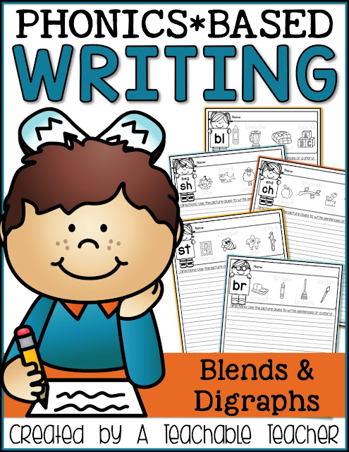 https://www.teacherspayteachers.com/Product/Phonics-Writing-Prompts-Blends-and-Digraphs-1889223