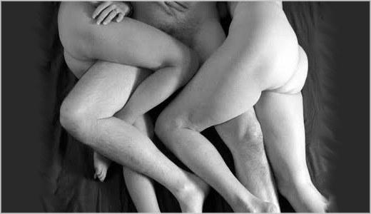 sexo a tres ou menage a trois entre um homem e duas mulheres