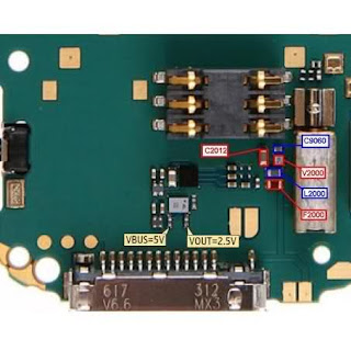 Nokia n73 not charging solution diagram