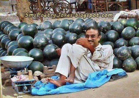 Zardari funny picture, zardari on the road, funny pictures for entertainment