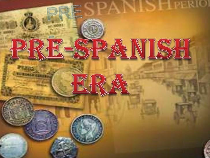 pre spanish period