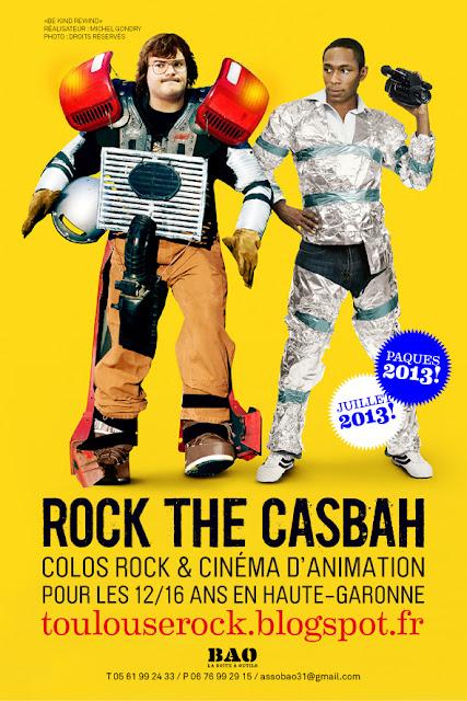 colo cinéma et musique en Haute-Garonne ROCK THE CASBAH pour les 12/16 ans