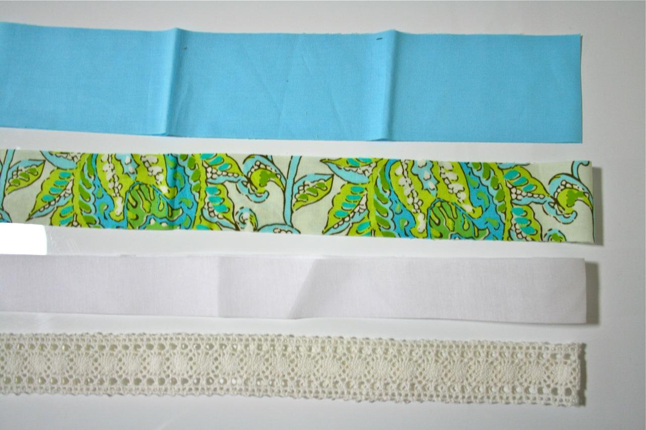 Пояс сшить из ткани