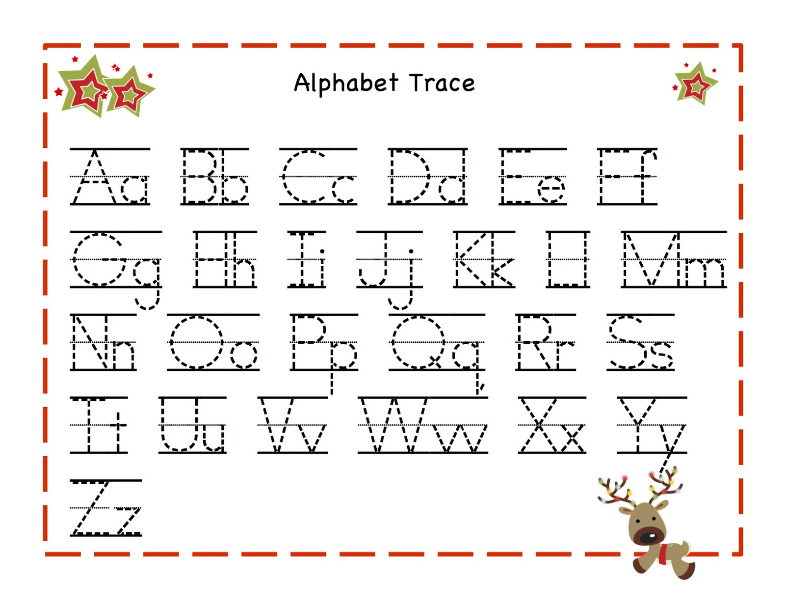 Worksheets Alphabet Cursive | Free Download Printable Worksheets On ...