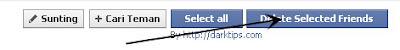 Menghapus Semua Teman Di Facebook Sekaligus