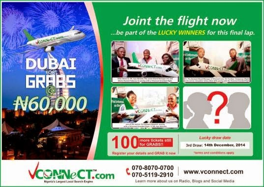 Dubai for grabs @ N60, 000.00: Your Last Chance To Fly…