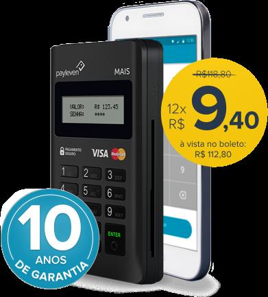 Desconto de 5% na compra do leitor. Aceite cartões de débito e crédito https://payleven.com.br/leit