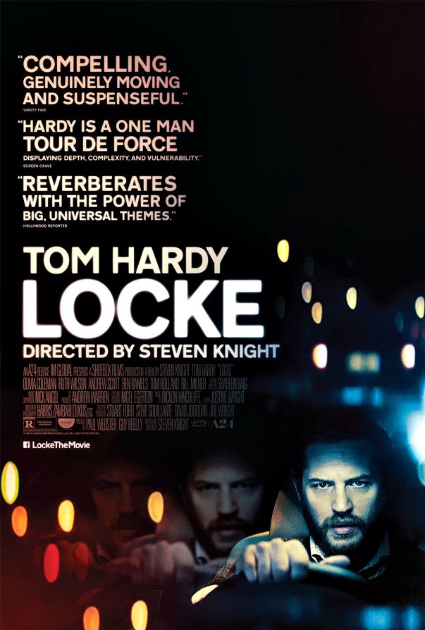 Póster de Locke, de Steven Knight